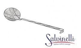 SALVINELLI - Łyżka cedzakowa/szumówka - długość 54 cm