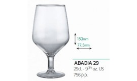 VICRILA HOSTELVIA - Abadia 290 ml - do wina - 6 szt