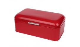CHLEBAK STALOWY - Czerwony kuferek