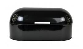 ODELO OD 1195B - Chlebak stalowy - czarny owalny