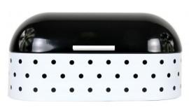 ODELO OD 1266BW - Chlebak stalowy czarno biały