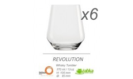 Stolzle Revolution - 6 x szklanka do whisky - 370 ml