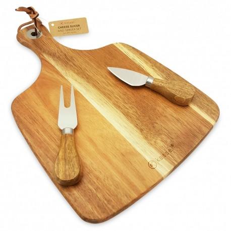 KASSEL - Deska do serwowania serów 3 części