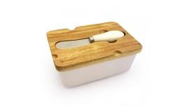 KASSEL - Maselnica z nożykiem + pokrywka