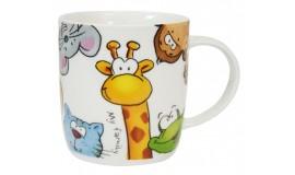 VERONI Przyjaciele - Kubek Żyrafa 350 ml