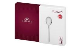 GERLACH Flames - 6 x Łyżeczka do kawy