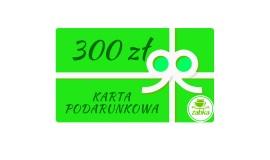 Karta podarunkowa 300 zł