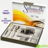 SALVINELLI Twist 24 el / 6 osób - FLOK