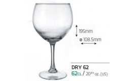 VICRILA HOSTELVIA - Dry 620 ml - do wody, lodów - 6 szt