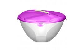 Branq - Cykoria - komplet sałatkowy fioletowy