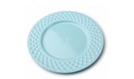 DIAMOND BLUE - Talerz obiadowy 26,5 cm
