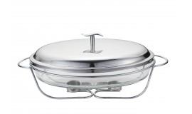 TADAR Longa - Szklane naczynie na podgrzewaczu 3,2 L