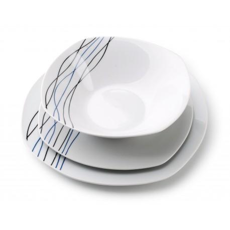 Serwis obiadowy - 36 części / 12 osób