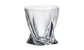 BOHEMIA Quadro Poland - Zestaw szklanek 340 ml - 6 osób