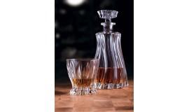 BOHEMIA Plantica - Zestaw do whisky z karafką - 6 osób
