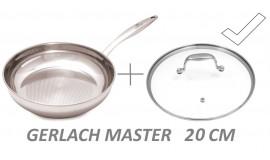 GERLACH MASTER 20 cm - okrągła z pokrywką