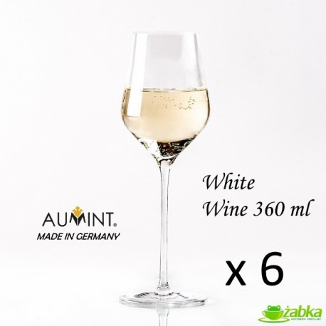 AUMINT Josephine - 360 ml do wina białego - 6 sztuk
