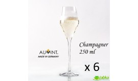 AUMINT Josephine - 250 ml do szampana - 6 sztuk