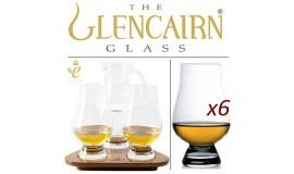 THE GLENCAIRN GLASS - 6 szklanek i dzbanek do whisky