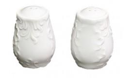 ĆMIELÓW Rococo 0001 - Solniczka i pieprzniczka