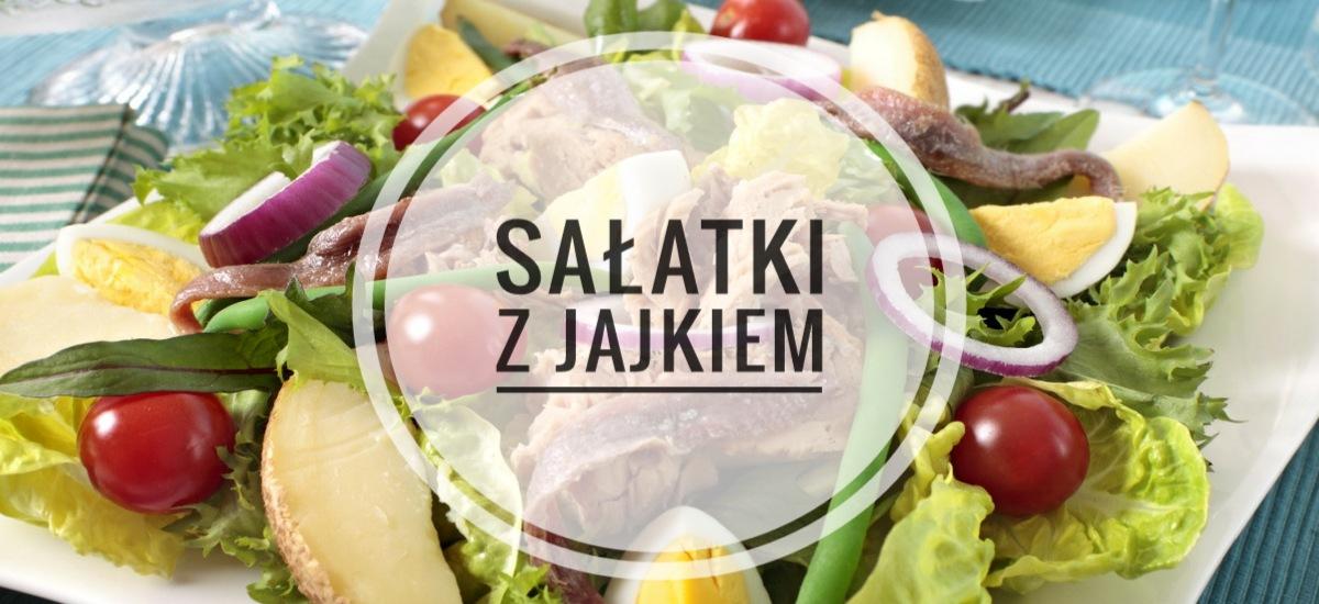 Dietetyczny obiad – FIT Sałatki z jajkiem - Porady Żabki