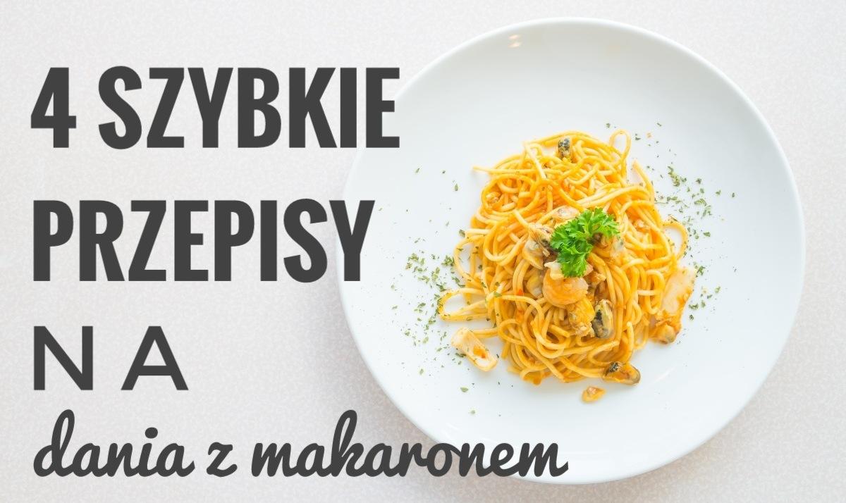 4 szybkie przepisy na dania z makaronem (spaghetti, penne, tortellini) - Porady Żabki