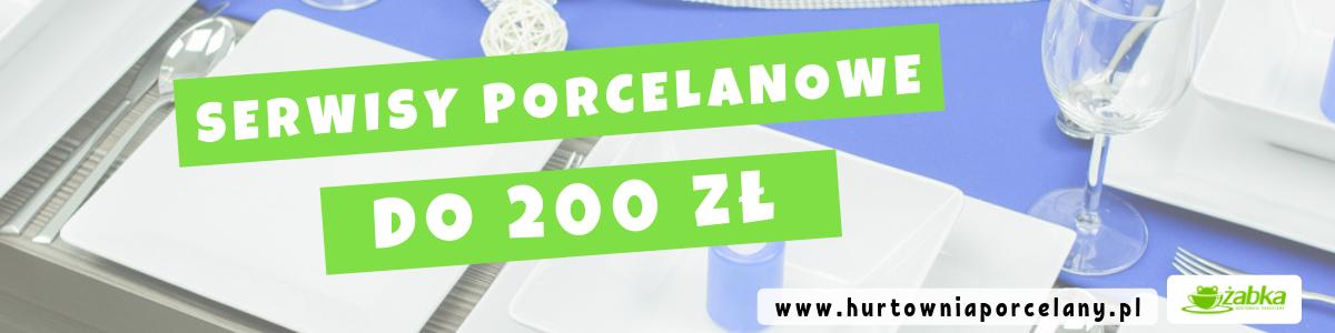 Serwisy obiadowe do 200 zł – wybieramy najładniejszy - Porady Żabki