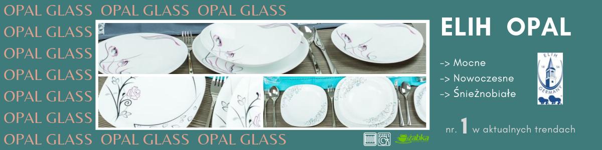 Szklane naczynia i serwisy ELIH Opal – czy przyszłość należy do naczyń z hartowanego szkła? - Porady Żabki