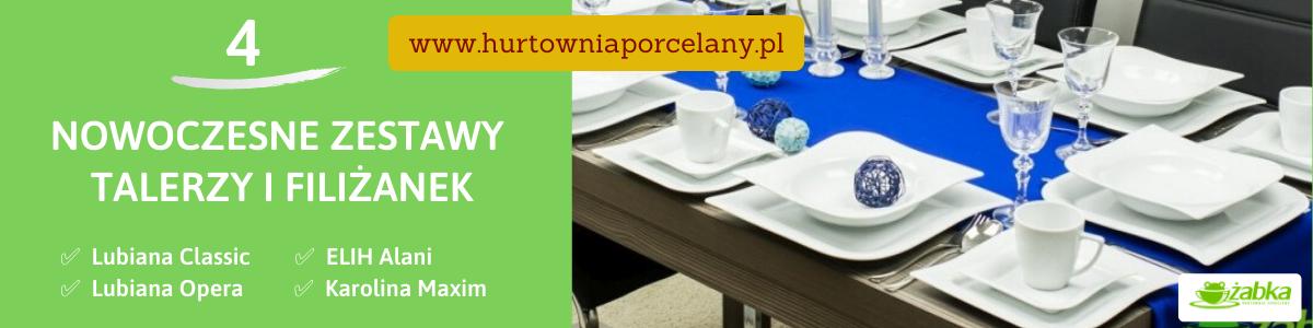 W poszukiwaniu idealnego serwisu porcelanowego – propozycje czterech nowoczesnych zestawów talerzy i filiżanek - Porady Żabki